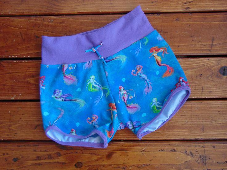 New to MiniGeeks on Etsy: Retro Shorts - Gym Shorts - Kids Shorts - Baby Shorts - Sirens (30.00 CAD)