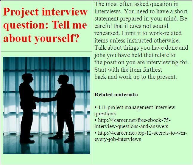 how to answer project management interview questions 6 steps