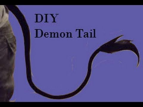 how to make a homemade devil tail