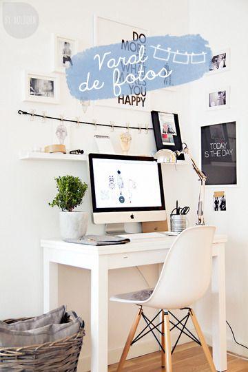 6 ideias para home office pequeno