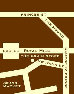 The Grainstore Restaurant, Edinburgh