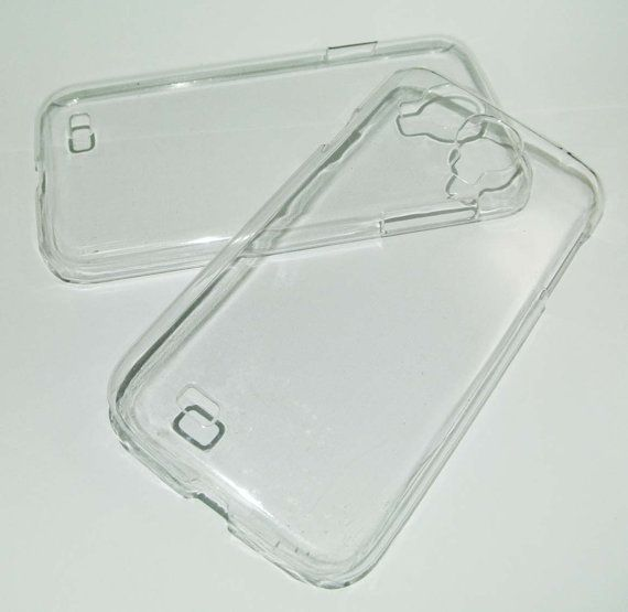 DIY Clear case cover for Samsung Galaxy S 4 I9500 by eSupply, $1.99