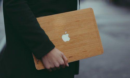 Glitty MacBook Cover Kirsebær 1