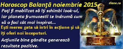 diane.ro: Horoscop Balanţă noiembrie 2015