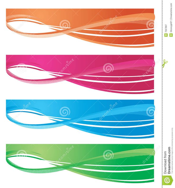 Web Banners Royalty Free Stock Photography - Image: 7567807