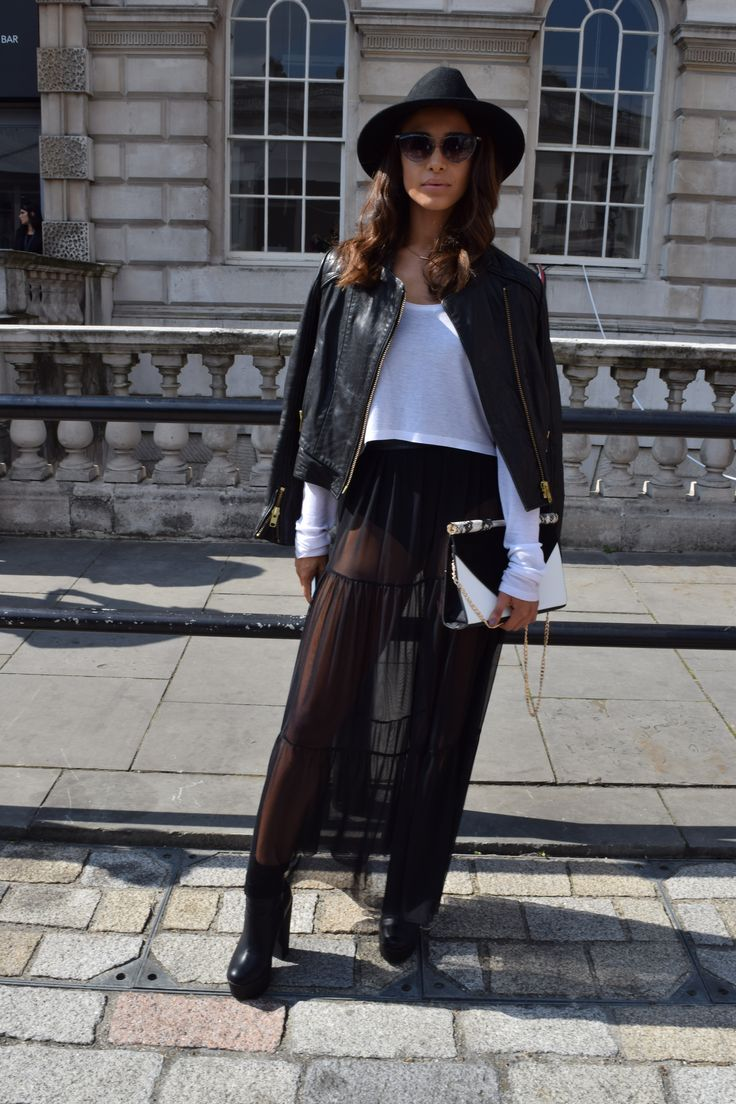 SS15 London Fashion Week Street Style from Mint Velvet