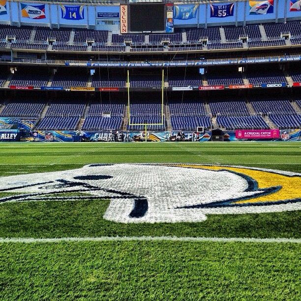 San Diego Chargers Football Field: 133 Best Images About Chargers On Pinterest