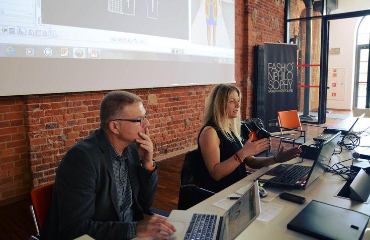 OptiTex – design your future – prowadzenie: Magdalena Krupińska oraz Alexandra Vassilaki, 9. FashionPhilosophy Fashion Week Poland, fot. Kamil Mackowicz #letthemknow #szkolenia #fashionweekpoland #fashionphilosophy
