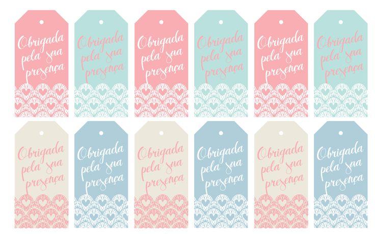 Obrigada pela sua presença | Blog de casamento por Manoela Cesar