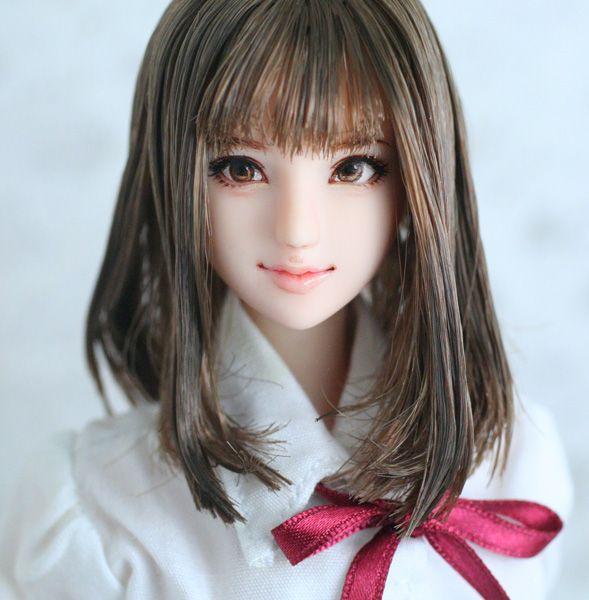 "★ and Rey ★ 1/6 custom doll head ""Manami"""