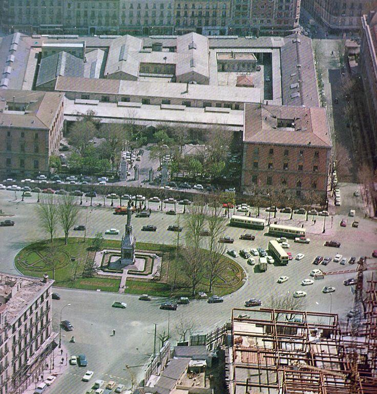 Casa de la Moneda - Plaza de Colón - mediados de los '60