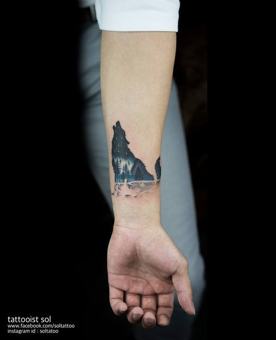 Wolf Tattoo – TOP 150 Wolf Tattoos this year #bisher #this #tatto … #Tattoos #All