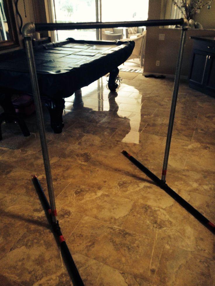 Horizontal Bar Gymnastics Kip Bars - Instructions on how to build! For Cheap!
