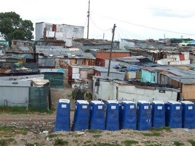 A typical informal settlement