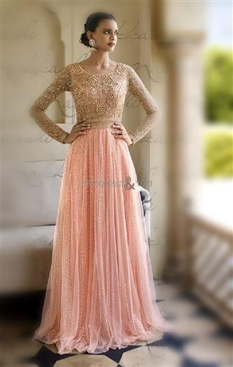 Evening gown online for bridesmaid and brides at wedding Visit:  http://www.designersandyou.com/dresses/gown-dress #Awesome #Inspiring #Beautiful #Fashionable #New Look #Pretty #Designer Wear #Best Collection #Trending Now