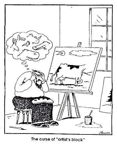 "Art humor. =^D | By ""The Far Side"" creator Gary Larson. | Follow WURLDZ OF AHRT on Facebook!"