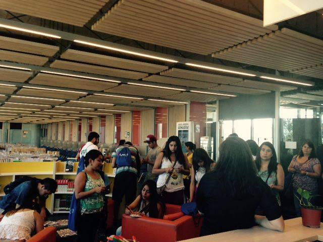 Alumnos de Inicio visitan Biblioteca SB