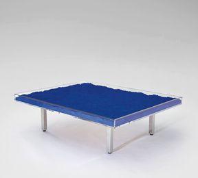 """Yves Klein, '""""Table bleue"""",' designed 1961, Phillips: Design"""