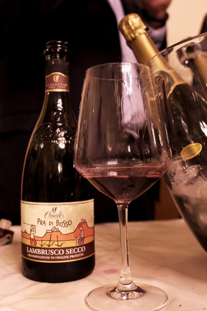 Lambrusco wine tasting in Florence