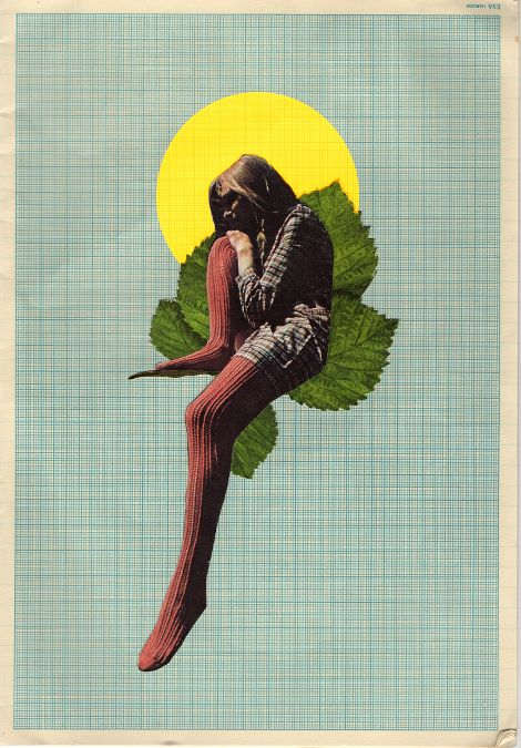 """Rhed Fawell - """"Solitude' - Collage 2016"""