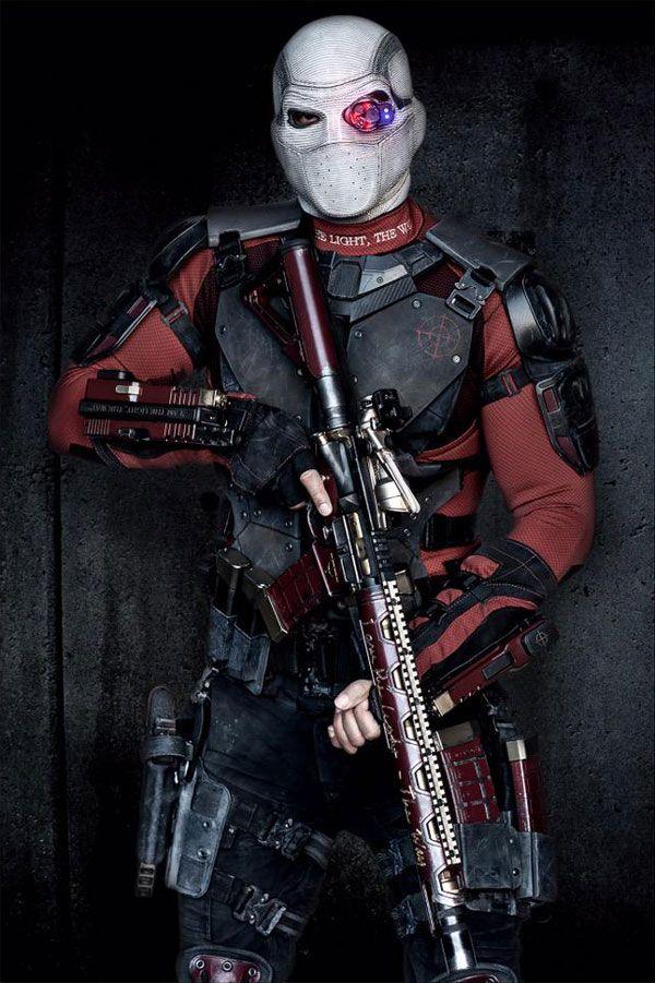 Will Smith goes full-on Deadshot!