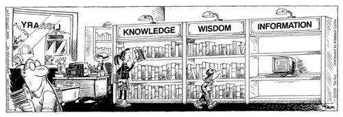 Humor in de bibliotheek (2)   Bibliothecaris in blog