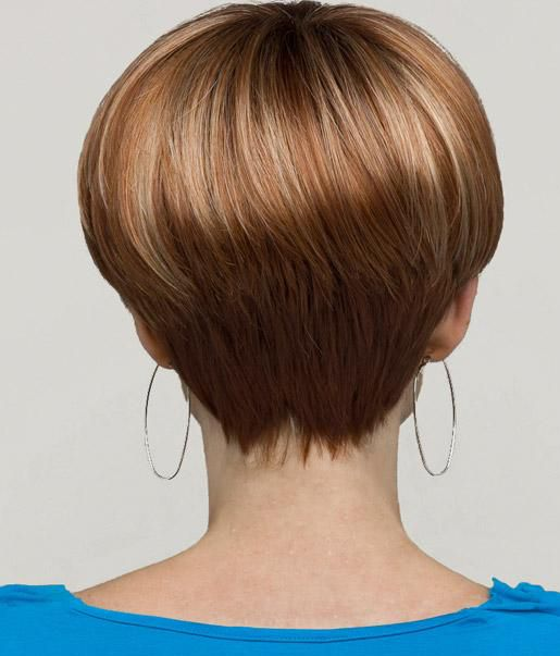 Holly from Hairware's Natural Collection introduces the latest trend in hair design. This lightweight mono top style offers layers that can be combed towards the face or combed away to create soft movement to this breezy and easy style. The fringe at the nape offers wispy edges to complete this fashion statement.