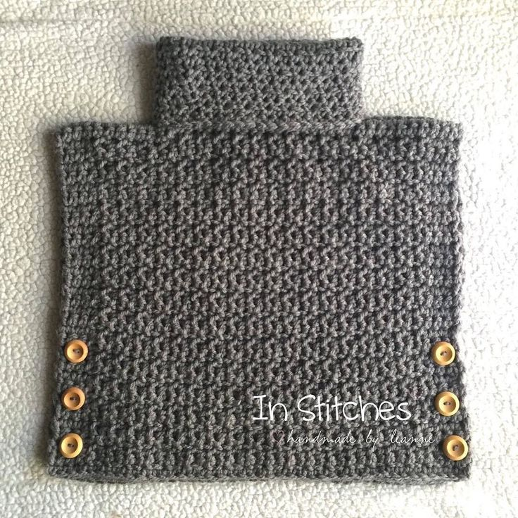 Crochet Cowl Pullover! This amazing little poncho style pullover can be custom�