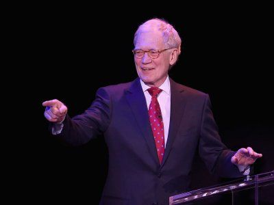 David Letterman came out of retirement to roast Donald Trump