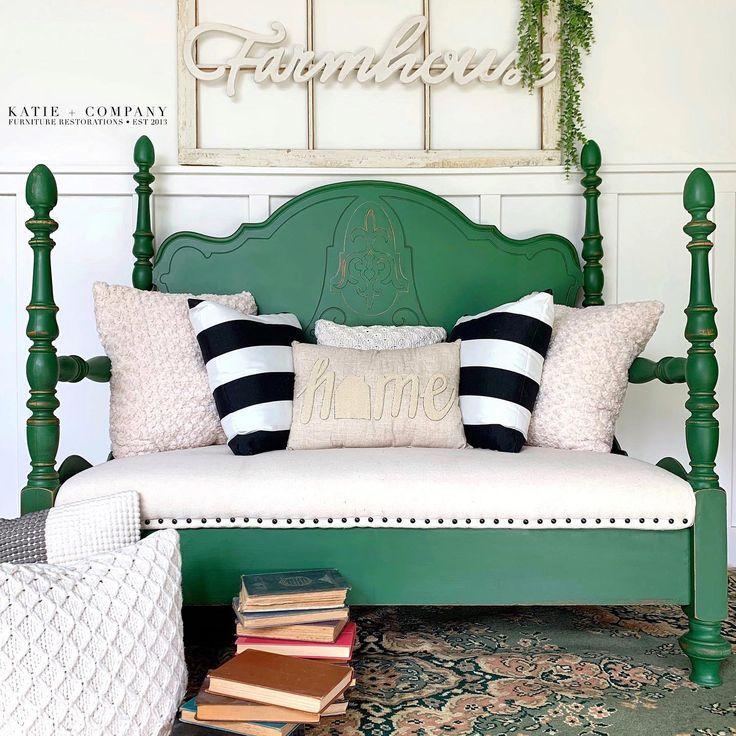 38+ Emerald green bed frame ideas