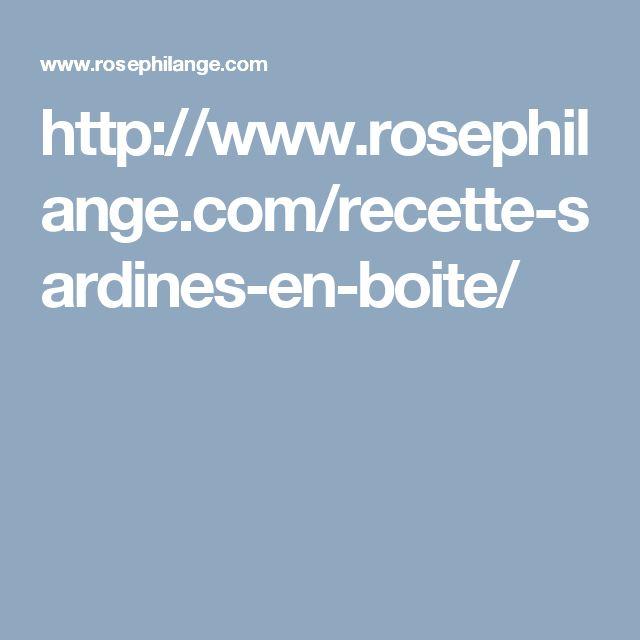 http://www.rosephilange.com/recette-sardines-en-boite/