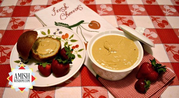 Cook's Corner: Dee Yoder's contribution--Esther's Amish Peanut Butter Spread recipe.