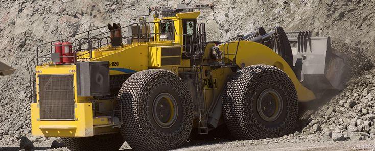 P&H, Surface mining, Wheel Loaders