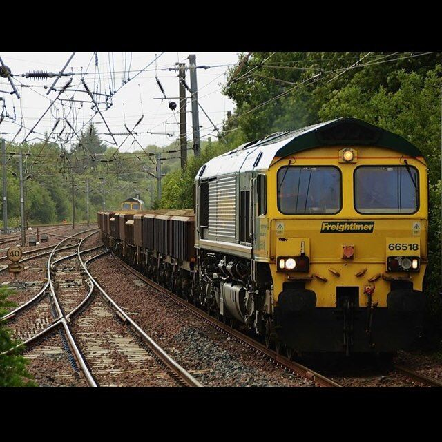Vintage  freightliner class tnt topntail topandtail kilwinning
