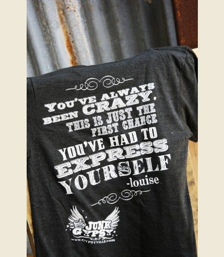 TheLMA & LOuiSE tees . . the back! {junk gypsy co}