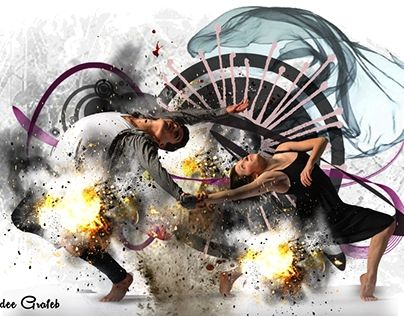 """Check out new work on my @Behance portfolio: """"Dance is an explosion of passion and blood"""" http://be.net/gallery/48217439/Dance-is-an-explosion-of-passion-and-blood"""
