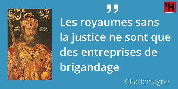 28 janvier 814 : mort de Charlemagne. Il vient de rejoindre notre index, voici ses citations