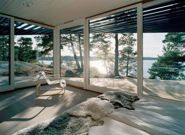 Design - HomeLakes House, Beach House, Dreams, Summer House, Big Windows, Stockholm Sweden, Interiors, The View, Bedrooms