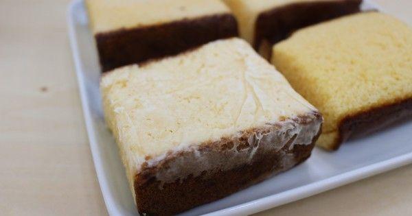 カステラに牛乳を染み込ませて凍らせる「カステラアイス」が美味!シャリふわ食感と濃厚味をぜひ味わって!