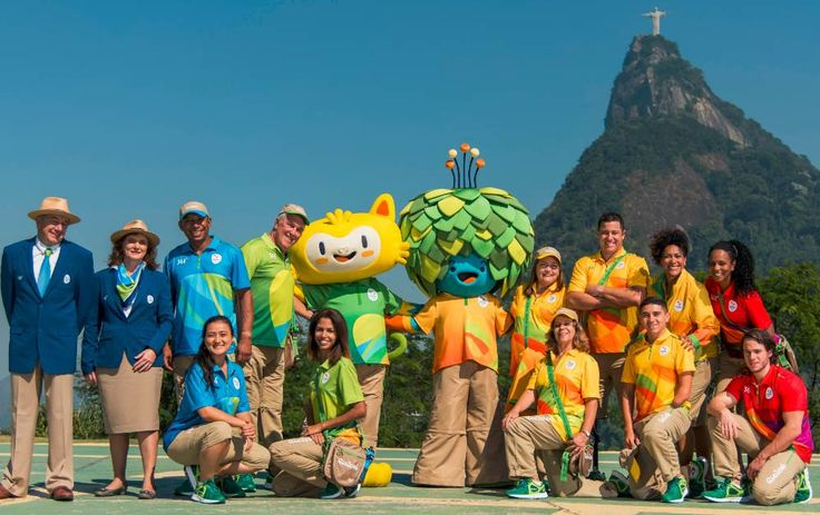 BRASIL - Uniforme de árbitros y funcionarios Olimpiadas 2016