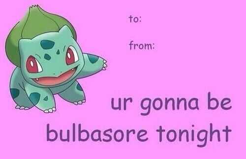 Pokemon - bulbasaur | Valentine's Day Cards | Funny ...
