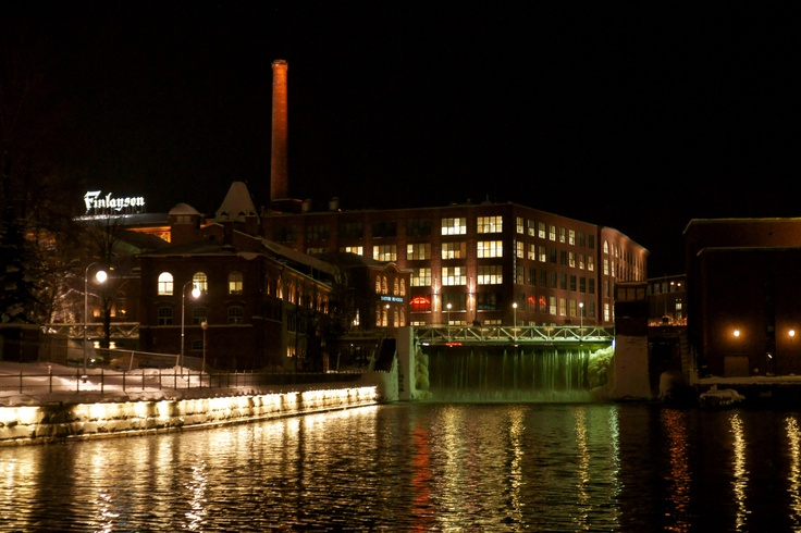 Rapids called Tammerkoski and the old Finlayson factory