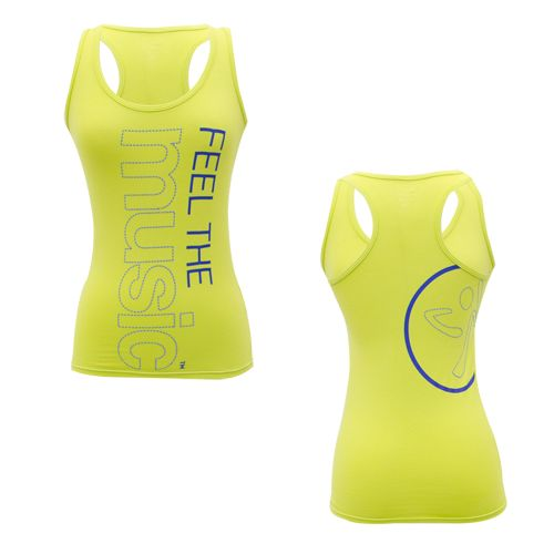 Zumba Shop Canada | Buy FEELIN' IT RACERBACK - GREEN