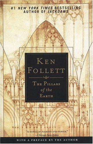 The Pillars of the Earth by Ken Follett. Great historical fiction of medieval England.  Compelling love story amidst building a cathedral and political intrigue in royal and not-so-royal circles.
