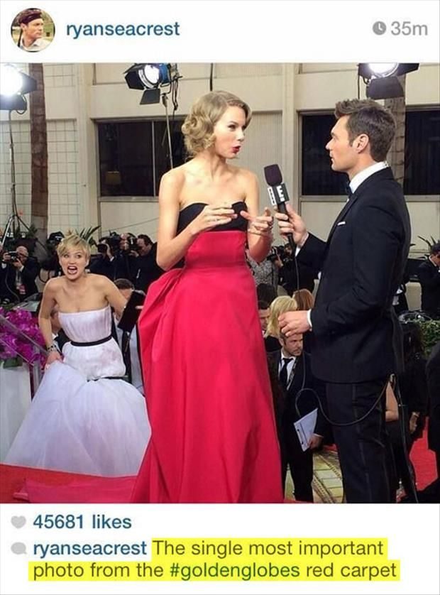 Ha ha love Jennifer Lawrence and hate Taylor Swift. I wanna frame this ;p