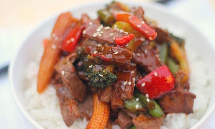 Hoisin beef and vegetable stir-fry recipe - Kidspot