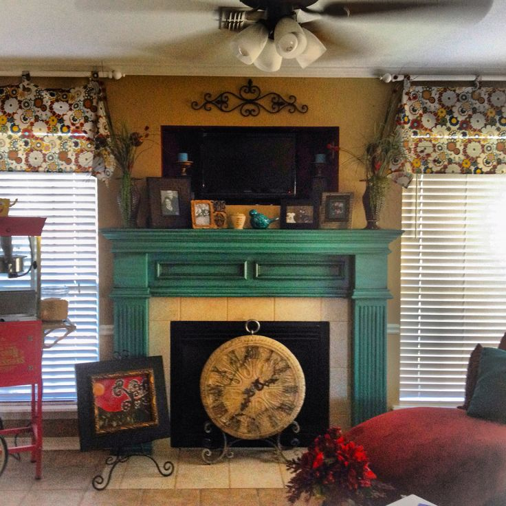The 25+ best Distressed fireplace ideas on Pinterest | Fireplace ...