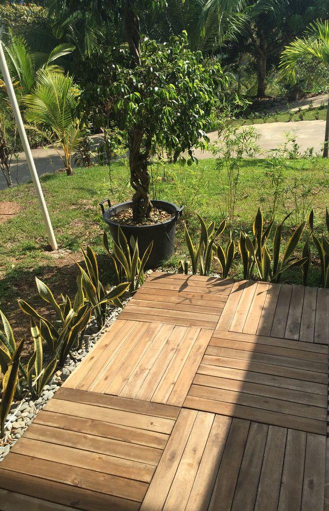 SNAP/GO for all your needs! Interlocking Deck Tiles, no tools necessary www.decktogo.com