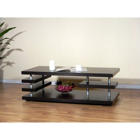 Free Shipping. Buy Furniture of America Aven Cappuccino Coffee Table at Walmart.com