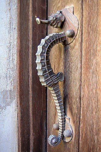Seahorse ♥ by Nessa Seahorse Door Opener
